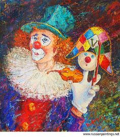 Famous Clown Paintings Art | Added: 11 Sep 2006, views: 14527 [Additional view]