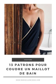13 patrons pour coudre un maillot de bain / sewing patterns