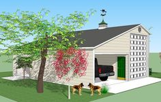 Bradley Mighty Steel RV Garage for sale, RV Shelter pricing Rv Garage, Garage Plans, Garage Storage, Garage Ideas, Shed Floor Plans, Barn Plans, House Plans, Rv Shelter, Shelters