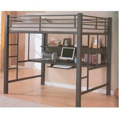 Loft Beds With Desk To Save Kid's Room Space