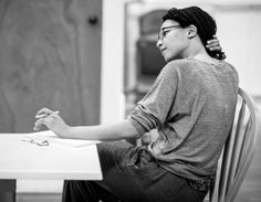 Nina in rehearsals for Frozen at the Theatre Royal Haymarket, Nina Sosanya, Theatre Royal Haymarket, Sarah Lancashire, Murder In The First, It Cast, Normcore, Female, Muse, Frozen