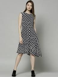 Image result for navy and white polka dot dress marks and spencers