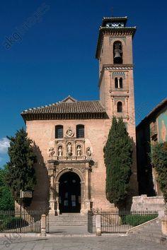 #Granada (Andalusia, Spain), Santa Ana church (built 1537, architect: Diego de Siloé), – View.