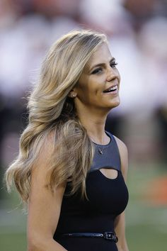 Samantha Ponder is an American sportscaster. She is currently a reporter/host for ESPN college football and basketball sideline reporter. She is married to Minnesota Viking's quarterback Christian Ponder.