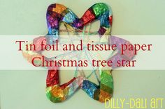 Dilly-Dali Art: Christmas Tree Star