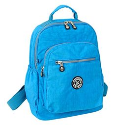 FanselaTM Sports Travel Nylon Backpack Ocean Blue ** This is an Amazon Affiliate link. Be sure to check out this awesome product.