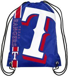 0cfd86a3f6 Forever Collectibles Texas Rangers Big Logo Drawstring Bag Texas Rangers  Logo