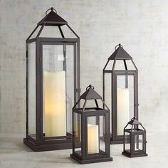 Black Metal Lanterns to decorate your home! #afflink #lantern