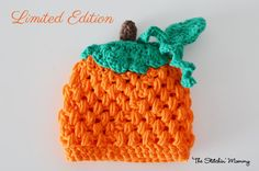 Crochet Pumpkin Hat For Girl or Boy  Various by TheStitchinMommy