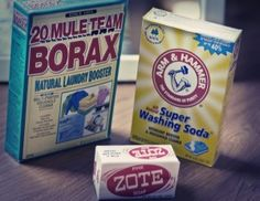 DIY Laundry Detergent  SIMPLE HOMEMADE DRY LAUNDRY DETERGENT  2 cups finely grated Zote, Fels Naptha, or Ivory soap  1 cup borax  1 cup washing soda