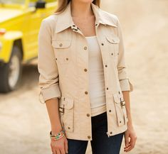 Since our earliest days, National Geographic explorers have relied on lightweight, functional jackets like this one to discover the world. Women's Safari Jacket | National Geographic Store