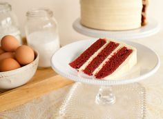 Red Velvet #cake #sweettheacakes #southerncake #creamcheeseicing