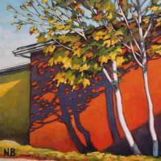 """""""October Sun"""" - Original Fine Art for Sale - © Nora Bergman"""