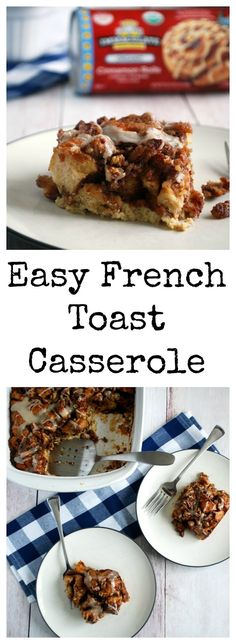 Whether you call this a Cinnamon Roll Casserole or a French Toast Bake, this easy yet decadent breakfast will be the star of your holiday morning!