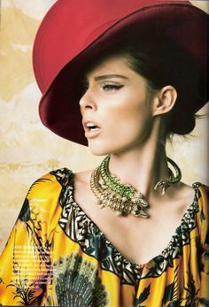 Smile: Coco Rocha in Vogue Mexico September 2010