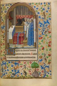 Office of the Dead, French, about 1466 - 1470 Ms. Ludwig IX 11, fol. 104