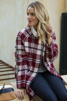 pretty plaid coat {love gal meets glam}