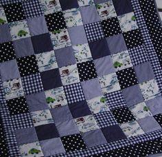 Krabbeldecke aus A. Henry Designerstoff! von Meine bunte Flickenecke auf DaWanda.com