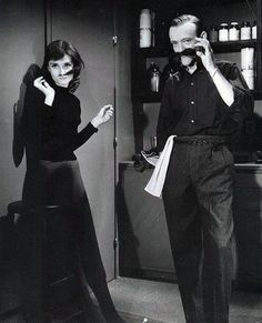 Fred Astaire and Audrey Hepburn in Funny Face <3