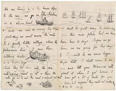 The Morgan Library & Museum Online Exhibitions - Beatrix Potter: The Picture Letters - Letter to Noel Moore, March 11, 1892, page 2-3