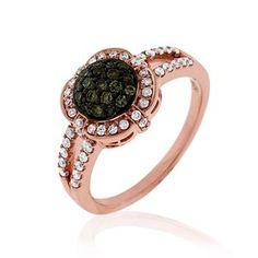 Shop online Mocha Diamond RSD-10350 Rose Gold DIAMOND Rings  at Arthur's Jewelers. Free Shipping