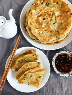 The Cooking of Joy: Bacon Fat Scallion Pancakes Scallion Pancakes, I Chef, Asian Recipes, Ethnic Recipes, Learn To Cook, Bacon, Appetizers, Low Carb, Joy