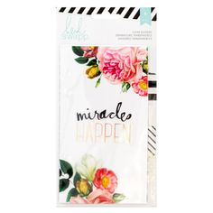 <div>Organize your personal planners, scrapbooks and journals with these Heidi Swapp Memory Plan...