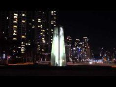▶ 청라공원 미디어타워 (Transparent LED Video Tower Installed at Cheongna, Incheon by Powerglass) - YouTube