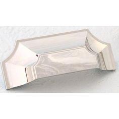 Empire Designs Polished Nickel Cup Pull Schaub Company Pulls Bin Cabinet Hardware & Knob
