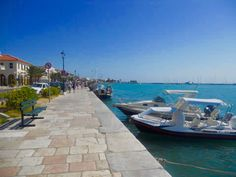 Zante town. Stunning place, you get a real feel of their culture here, it is a working town with some lovely little shops to look around...and some gorgeous yachts in the harbour. Another personal photograph.