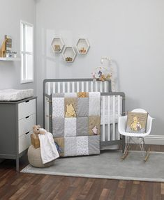 Shop for winnie the pooh crib bedding at buybuy BABY. Buy top selling products like Disney Winnie The Pooh Hunny & Me Crib Bedding Set in Grey and Disney® Winnie the Pooh First Best Friends Crib Bedding Set in Aqua. Pooh Baby, Winnie The Pooh Nursery, Disney Nursery, Girl Nursery, Baby Baby, Nursery Room, Crib Sets, Crib Bedding Sets, Dorm Bedding