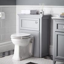 Savoy WC unit gunmetal grey image 1