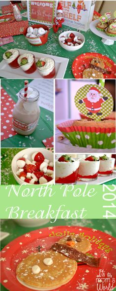 North Pole Breakfast 2014. Free Printables and ideas!