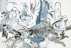 Cecily Brown. Untitled, 2012 Monotype on Lanaquarelle 48 x 72 inches