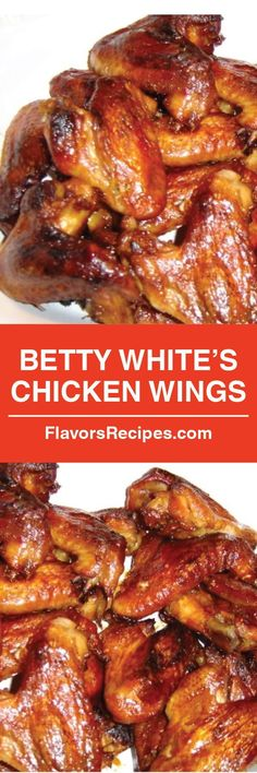 Betty White's Chicken Wings
