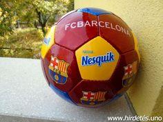 Eladó új, FC Barcelona futball labda. 5-ös méret. Átvétel csak személyesen a lakcímemen,Óbuda 3. ker.