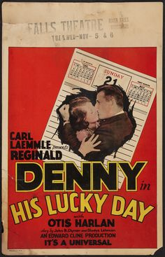1929 - HIS LUCKY DAY - Edward F. Cline