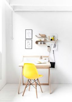 canary yellow :: the perfect little study