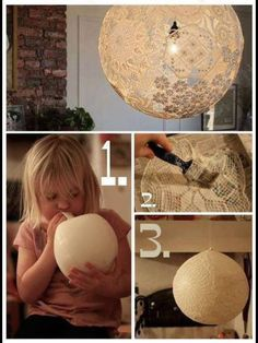 Ballon Lase Lamp So Easy