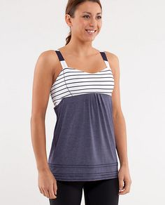 41e215d803aaf Lululemon Run  Back On Track Tank Think this would look good crossing a  finish line