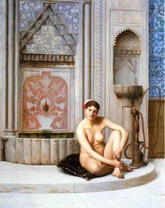 Jean-Léon Gérôme  –  Nude♥