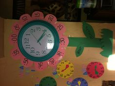 WHAT TIME IS... DAYCARE WALL DECOR