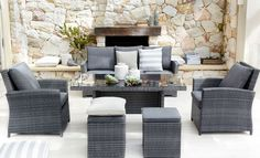 Malta 6-Piece Outdoor Lounge Dining Setting from Harvey Norman NewZealand