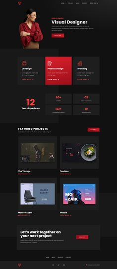 Blog Website Design, Portfolio Website Design, Creative Portfolio, Website Themes, Website Design Inspiration, Website Web, Portfolio Ideas, Personal Portfolio, Website Ideas