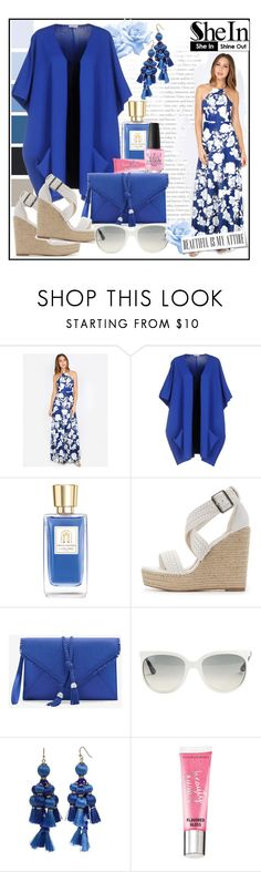 """""""Summer to the Max!!"""" by jckallan ❤ liked on Polyvore featuring P.A.R.O.S.H., Lancôme, Charlotte Russe, White House Black Market, Ray-Ban, Kate Spade, Beauty Rush and OPI"""
