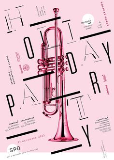 robertfestino: POSTER / INVITATION / HOLIDAY PARTY / 2013