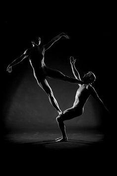 Acro Yoga! core strength pose