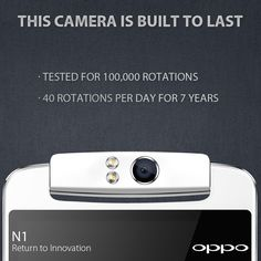 The N1's camera was built to last, here is the proof. http://en.oppo.com/n1 #OPPON1