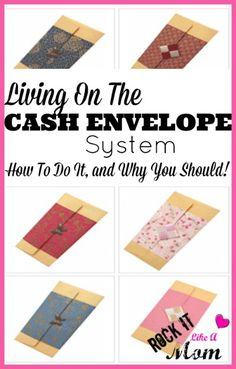 We've been living on the cash envelope system for nearly 6 months now, and it has completely revamped our finances! HIGHLY recommend giving it a try!