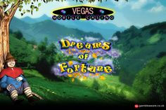 Immerse yourself in awesome features of the latest slot game, Dreams of Fortune Sign up & play now at Vegas Mobile Casino!!